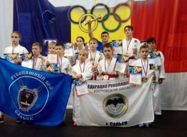 Спортсмены клуба «Боец» стали третьими на областном первенстве