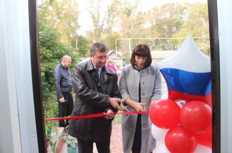 В Сеятеле открыли модульный пункт оказания первой медпомощи