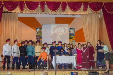 В Сальском индустриальном техникуме устроили казачьи посиделки