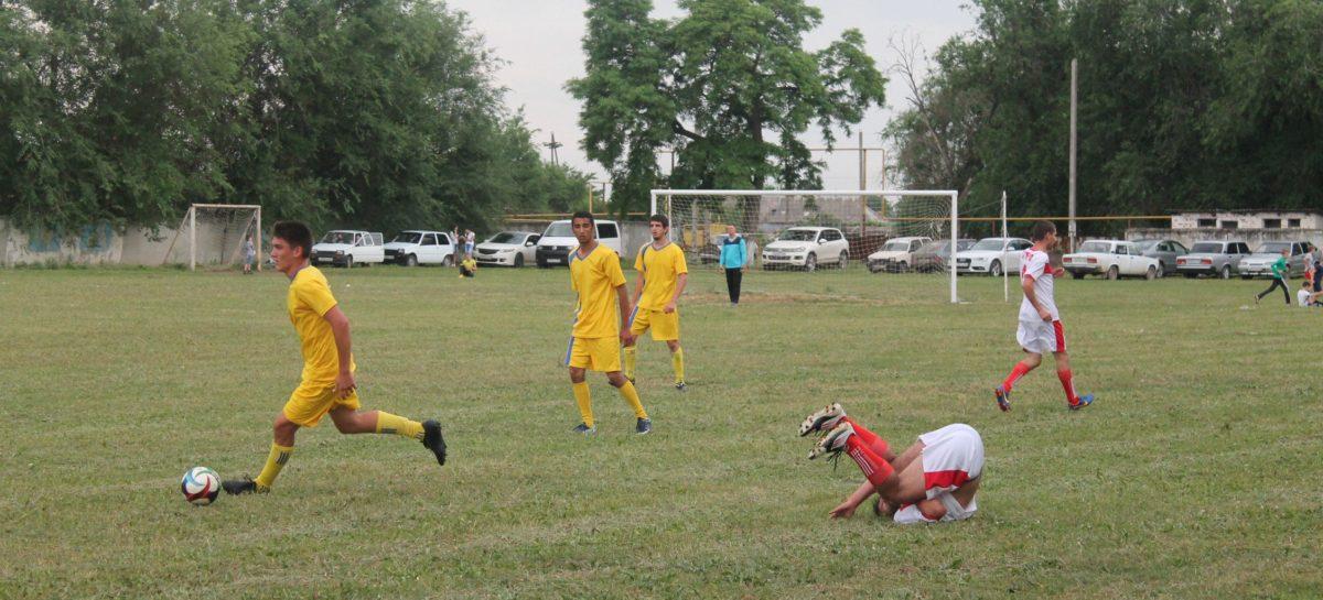 Матчи 21-го тура районного чемпионата по футболу пройдут 15 октября