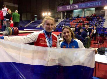 Сальчанка Дарья Рязанова победила на юношеском первенстве Европы по тяжелой атлетике