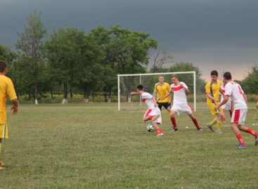 Главный матч районного чемпионата по футболу пройдет в Гиганте 22 октября
