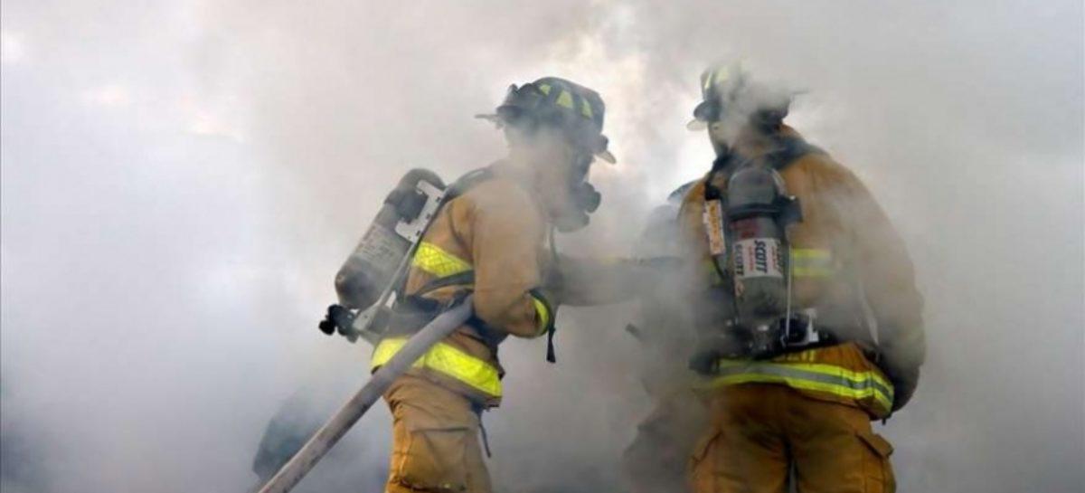 В поселке Приречный Сальского района произошло возгорание на почте