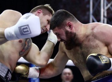 Сальский боксер Гасан Гимбатов выиграл третий бой подряд