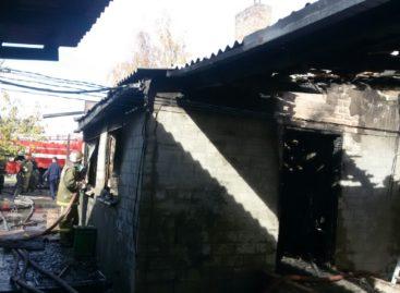 Из-за поломки газового оборудования в Сальске произошёл пожар