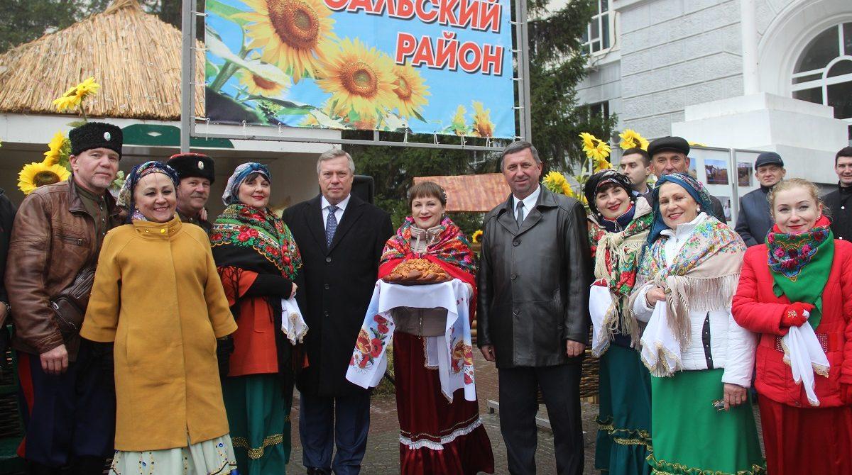Губернатор поздравил сальских аграриев с Днём работника сельского хозяйства