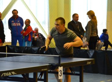 Сальчан приглашают на областной чемпионат по настольному теннису