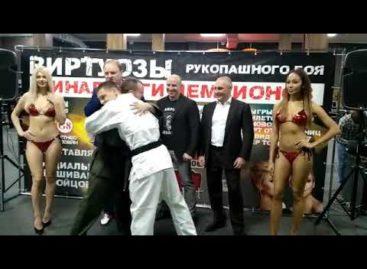 Сегодня сальчанин Александр Зайцев сразится в финале H2HFIGHT