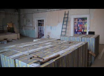 В Сальском Дворце культуры завершается ремонт кинозала