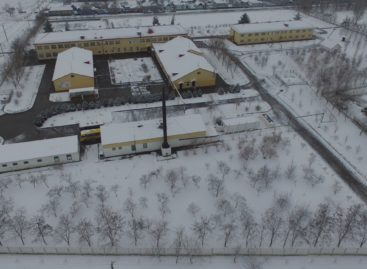 Ивановка первая в Сальском районе дождалась снега в декабре