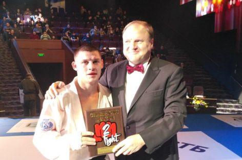 Сальский рукопашник Александр Зайцев победил в финале H2HFIGHT.