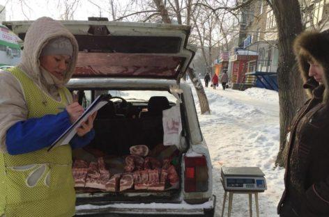 Сальчан призывают не покупать мясо и молоко с рук