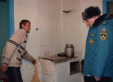 Зима без пожаров: в Новом Егорлыке прошёл рейд по пожарной безопасности