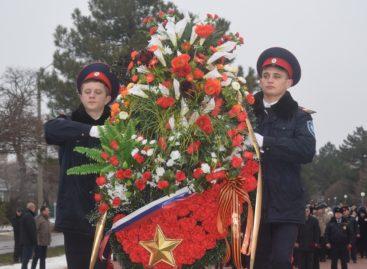 Юбилейную дату освобождения района от немецких оккупантов отметили в Сальске