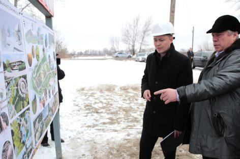 В станице Старочеркасской появятся две новые парковые территории