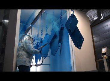 На заводе «Сальсксельмаш» работает новая линия покрасочного цеха