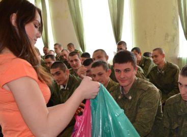 В Сальске стартовала акция «Подарок солдату»