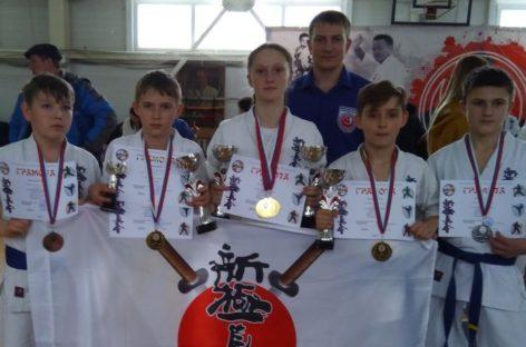 Каратисты клуба «Катана» выступили в Шахтах