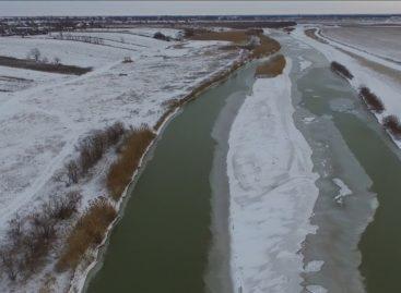 Зиму в Ивановке сняли с высоты птичьего полета