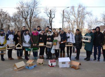 Сальские школьники в рамках ежегодной акции смастерили 66 кормушек