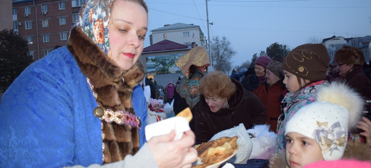 Сальчане встретят Масленицу на площади Ленина