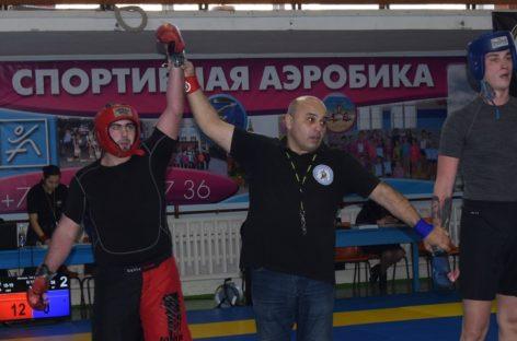 Сальчанин завоевал право выступить на чемпионате России по панкратиону
