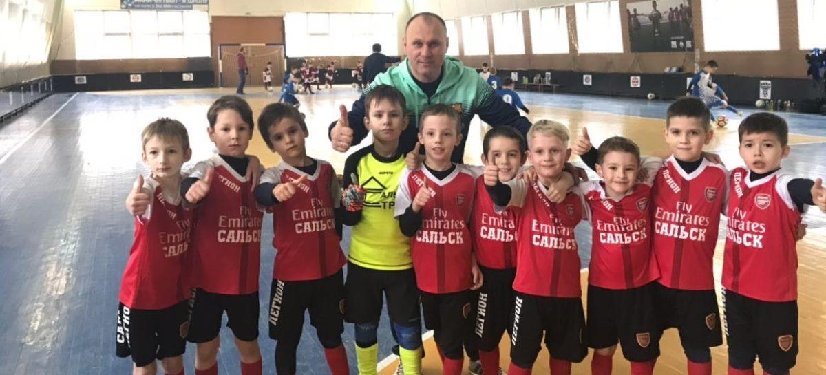 Сальская команда «Легион» прошла в полуфинал областного первенства по мини-футболу