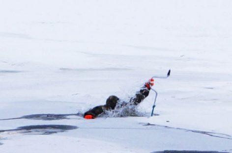 В Сальском районе два рыбака провалились в ледяную воду реки Маныч