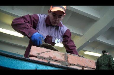 Лучшие каменщики СИТ соревновались в профмастерстве