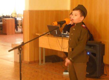 Сальские школьники подарили праздник военнослужащим