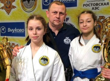 Сальские рукопашницы завоевали медали первенства России
