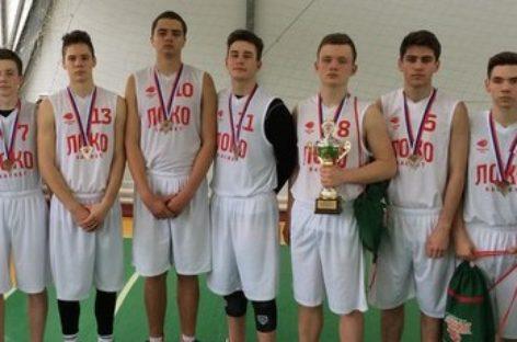 Сальчане завоевали «серебро» на региональном этапе «Локобаскета»