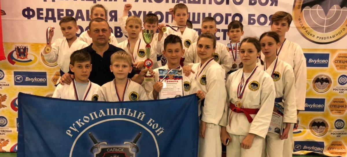 Рукопашный бой: «Боец» показал себя в Волгодонске