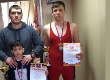 Борцы Сальского района показали себя на международном турнире