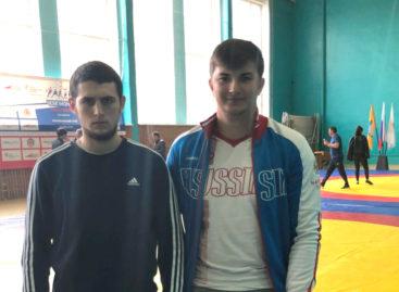 Борец Сальского района стал первым среди студентов ЮФО