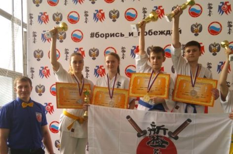 Каратисты киокусинкай из Сальска завоевали право выступить на первенстве России