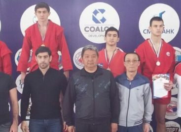 Сальчанин стал третьим на первенстве ЮФО по самбо