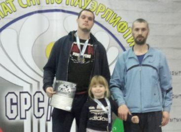 Сальчане показали свою силу в армлифтинге на соревнованиях в Ростове