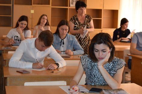 Сальские школьники тренируются перед сдачей ЕГЭ