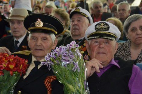 В Сальске начались торжества по случаю Великой Победы