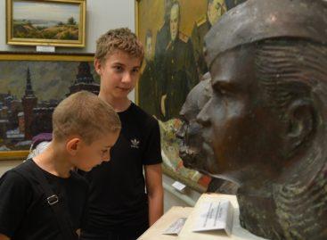 Сальчане встретили ночь в художественном музее