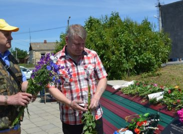 В Сальском районе побывали родные Героя, погибшего в боях на Маныче
