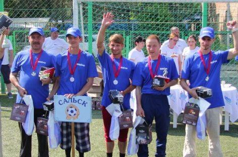 Спортсмены с ограниченными возможностями здоровья из Сальска стали призёрами специального турнира