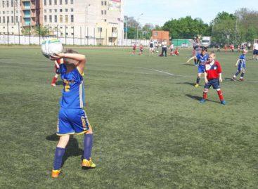 Детское футбольное первенство района: идет острая борьба за лидерство