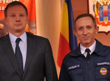 Сальскому пожарному вручили медаль «За ратную службу»