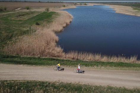 Праздничные выходные жители Ивановки отметили велопробегом
