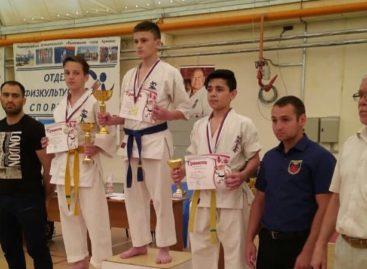 Сальский каратист стал первым в турнире на Кубани