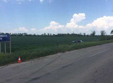 В Сальском районе в результате аварии опрокинулась «семёрка»