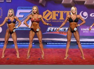 Фитнес-бикини: сальчанка Нина Завадская второй раз стала лучшей в ЮФО