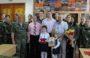 Семья сальского ветерана получила медаль «За отвагу»
